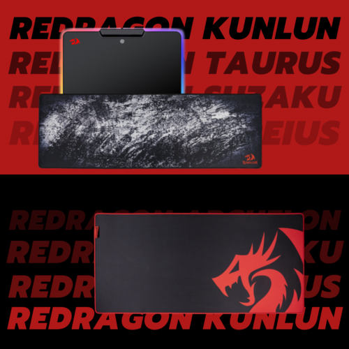 игровые коврики для мыши Redragon