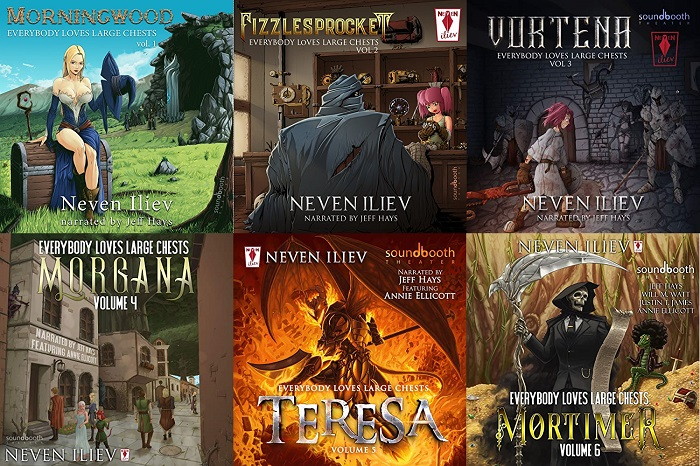 Everybody Loves Large Chests Series Book 1-6 - Neven Iliev