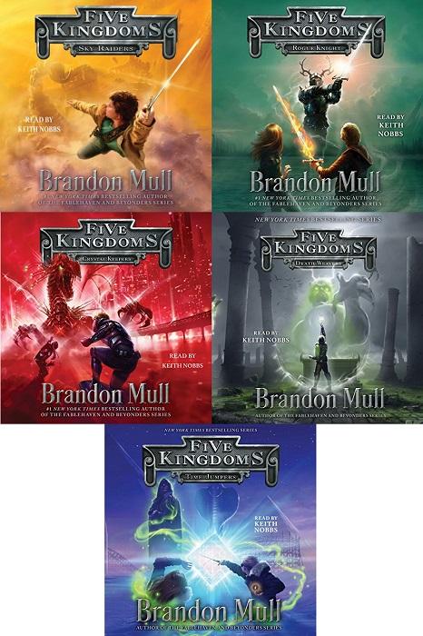 Five Kingdoms Series Books 1-5 - Brandon Mull