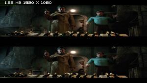 Приключения Тинтина: Тайна Единорога в 3Д/The Adventures of Tintin 3D (2011) BDRip 1080p / 7.75 Gb [Half OverUnder/Вертикальная анаморфная стереопара]