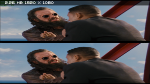 Люди в чеpном 3 в 3Д / Mеn in Black 3 in 3D (2012) BDRip 1080p / 11.8 Gb [Half OverUnder / Вертикальная анаморфная стереопара]
