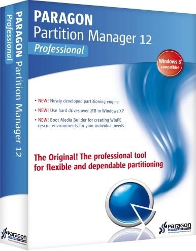Paragon Partition Manager™ 12 Professional 10.1.19.16240 + Boot Media Builder