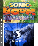 Sonic Boom Shattered Crystal [EUR] [3DS]