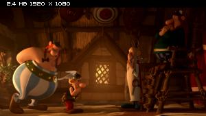 Астерикс: Земля Богов / Asterix: Le domaine des dieux (2014) Blu-ray 3D 1080p | Лицензия