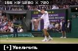 ������. Wimbledon 2015. �����. ����� �������� (������, 1) - ������ ������� (���������, 2) [12.07] (2015) HDTVRip 720p