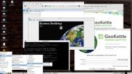 OSGeo-Live 9.5 (Дистрибутив для географов, картографов, кризисного управления) 2xDVD, 1xVM {i686, amd64}