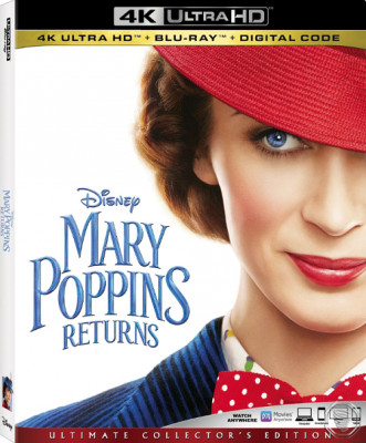Мэри Поппинс возвращается / Mary Poppins Returns (2018) UHD Blu-ray 2160p | 4K | HDR | Лицензия