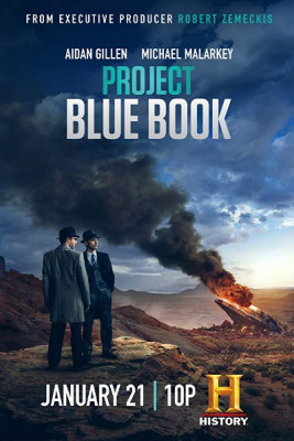 Проект Синяя книга / Project Blue Book [Сезон: 2, Серии: 1-4 (10)] (2020) WEB-DL 720p | NewStudio