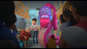Волшебный дракон / Дракон желаний / Wish Dragon (2021) WEB-DL 1080p | Netflix